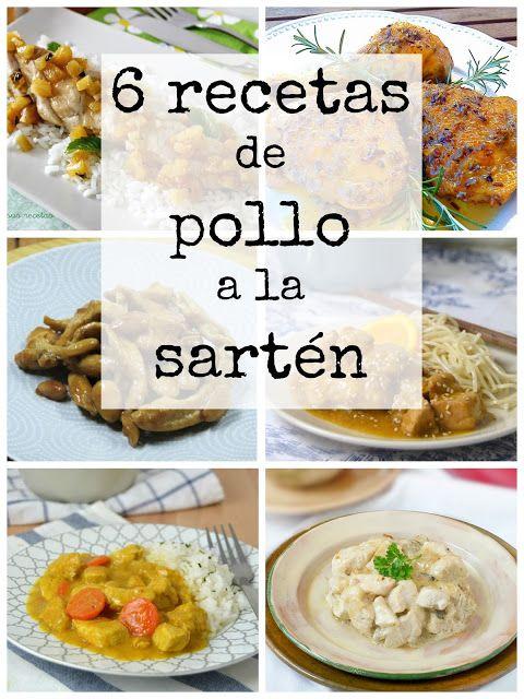Juanan Sempere Recetas Fáciles De Cocina Paso A Paso Pollo A La Sarten Comidas Faciles Con Pollo Que Hacer De Comer Hoy