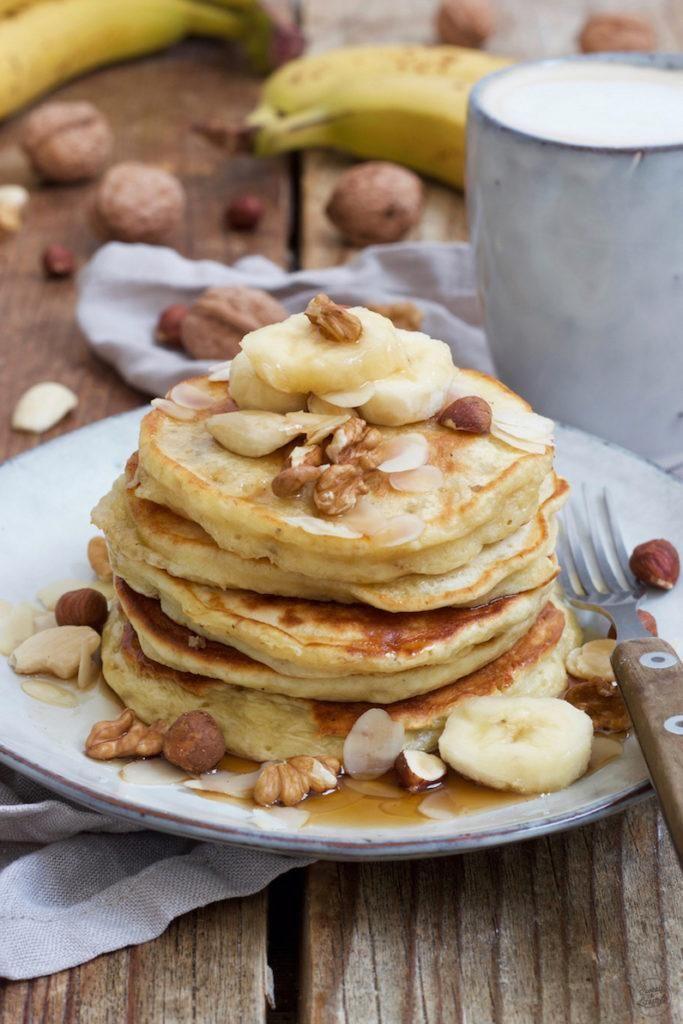 Bananen Pancakes - Rezept - Sweets & Lifestyle