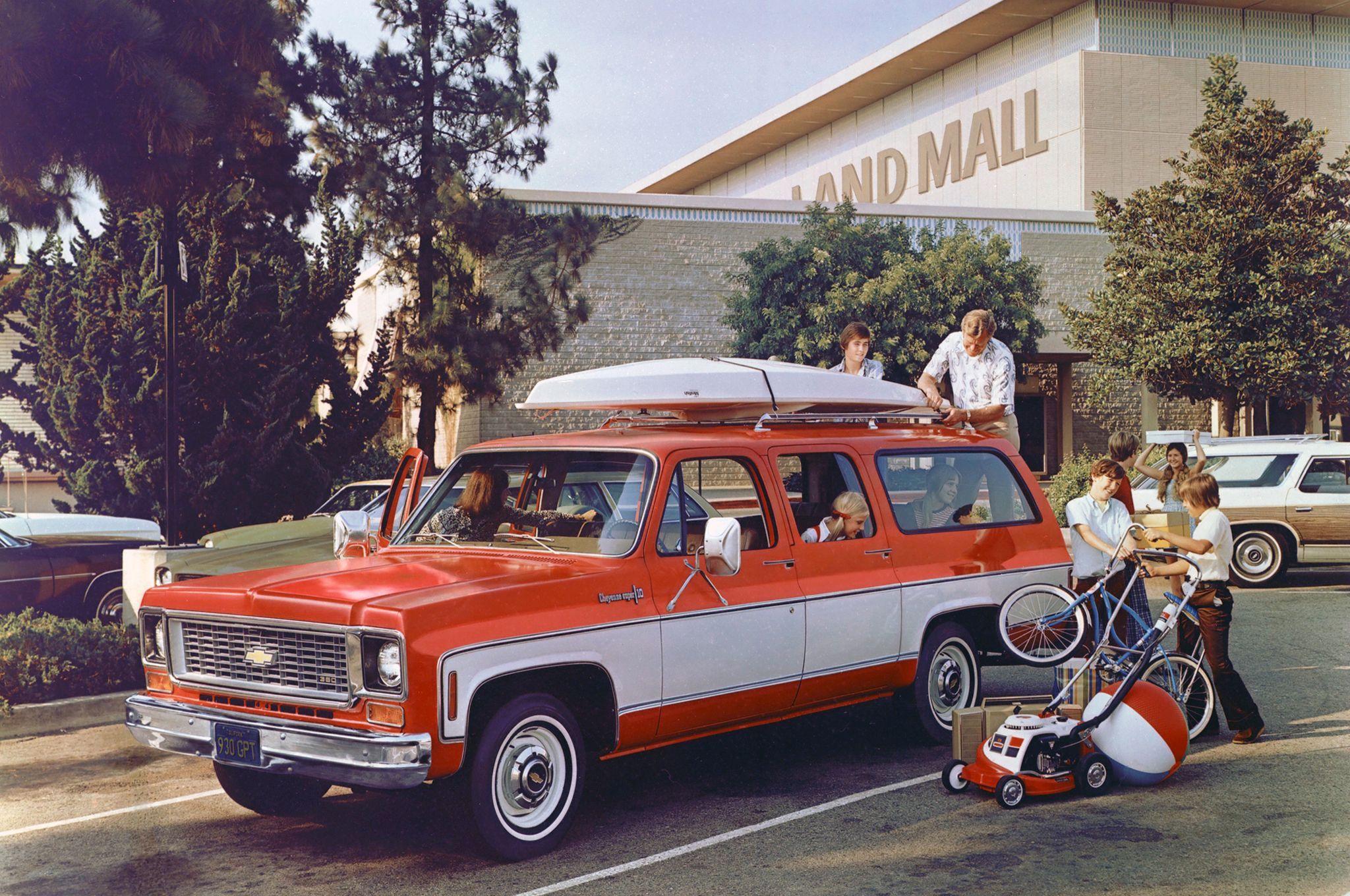 1974 Chevrolet Suburban 350 Ad Pic Suburban
