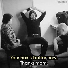 Dave Grohl and Mama Grohl