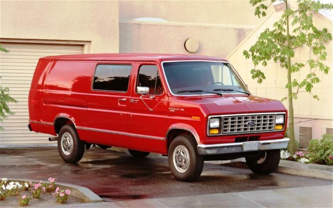 1989 Ford Econoline Ford Van Ford Custom Vans