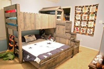 Etagenbett Ideen : Etagenbett ideen vollständig mit paletten möbelbau