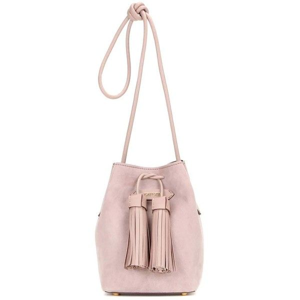 Tom Ford Small Tassel Suede Bucket Bag ( 2,060) ❤ liked on Polyvore  featuring bags c1abdb6e68d7