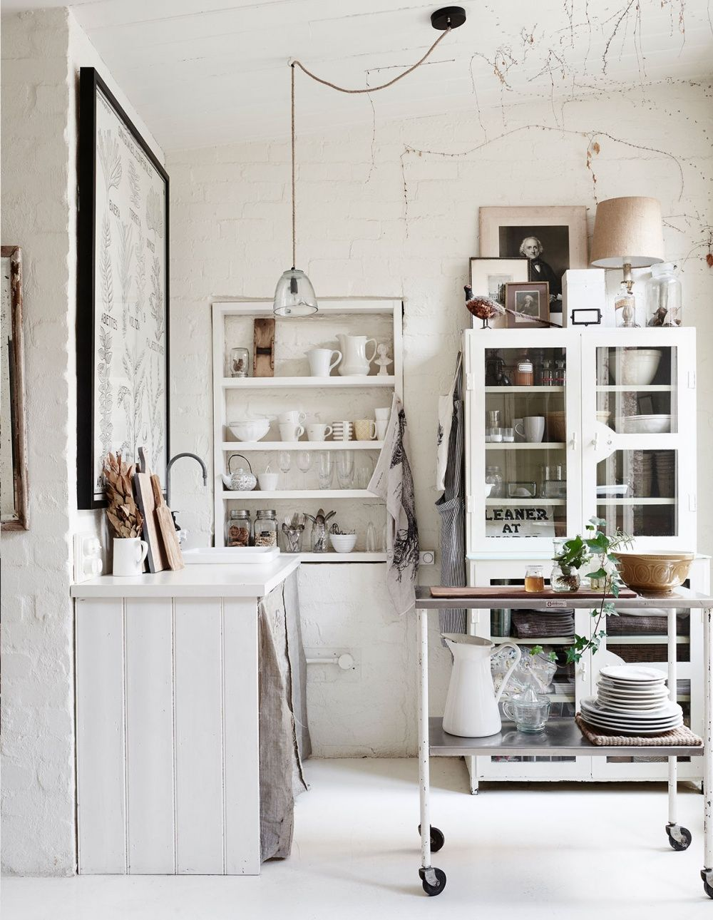 Lynda Gardener\'s \'The White Room\', featuring a medical cabinet ...