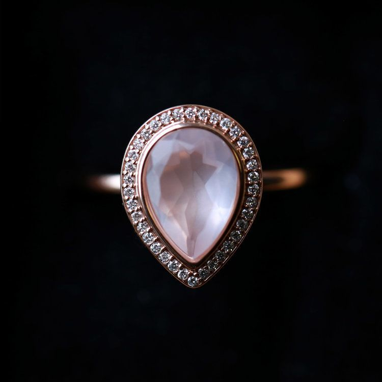 34++ Rose quartz engagement rings price information