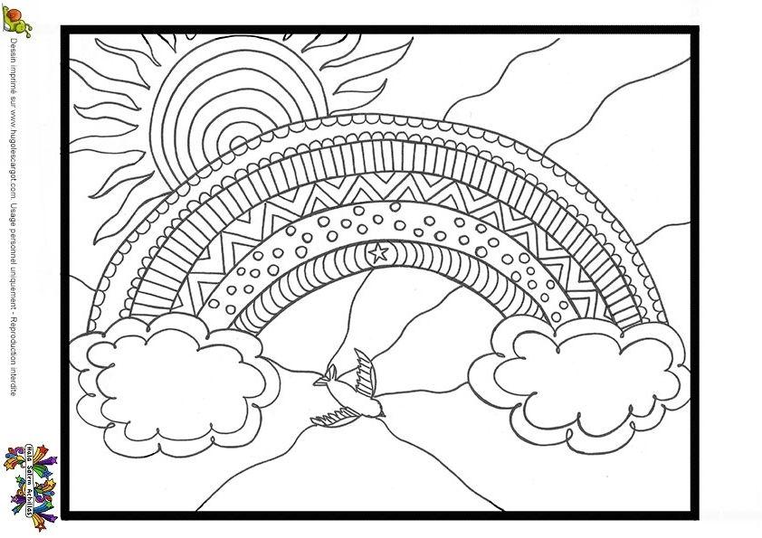 Coloriage De Mandala En Forme Du0027animaux Dessin Du0027un Mandala
