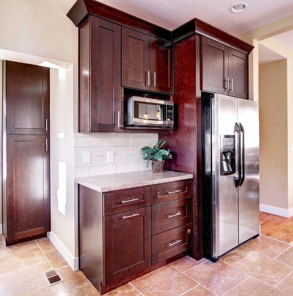JK Cabinetry Java Kitchen Cabinets in Phoenix httpwwwkitchenaz