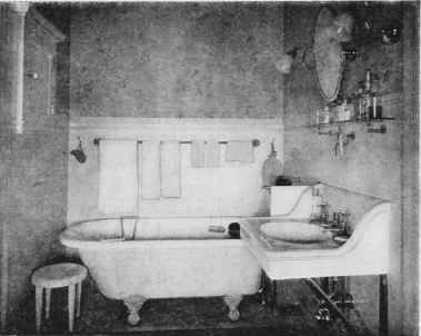A Green And White Bathroom From A 1910 Sherwin Williams Paint Brochure Victorian Bathroom