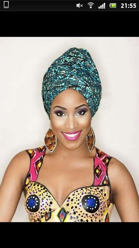 Headwrap Headwrap Beauté africaine, Attacher foulard