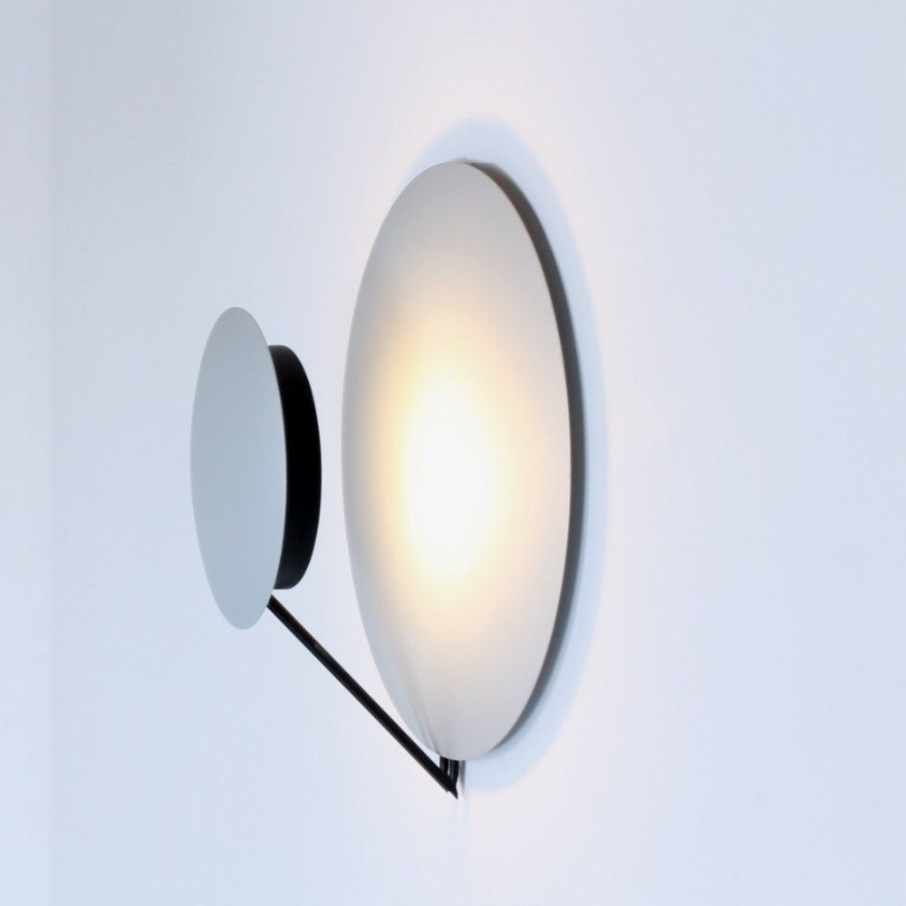 8 x Vega wall lamp by L. Cesaro & F. Amico for Tre Ci Luce, 1980s ...