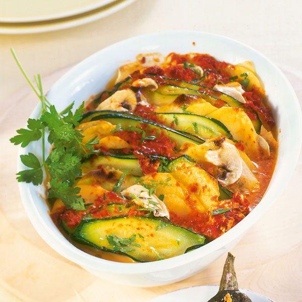 Petersilien-Zucchini-Auflauf