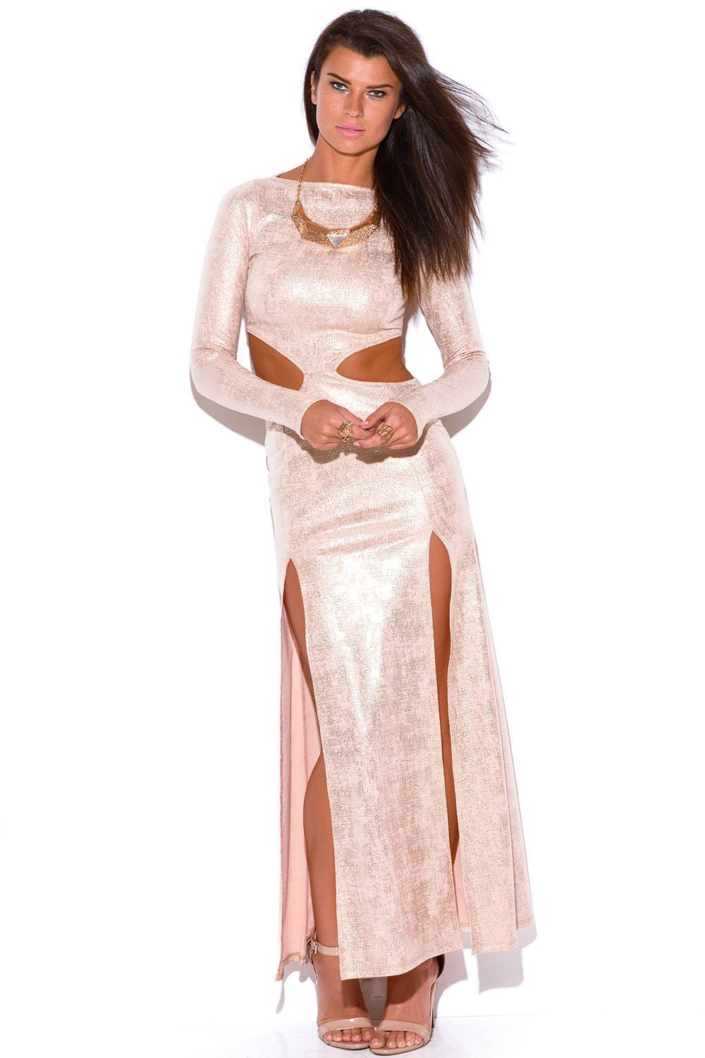 Metallic party dress products pinterest metallic party dresses