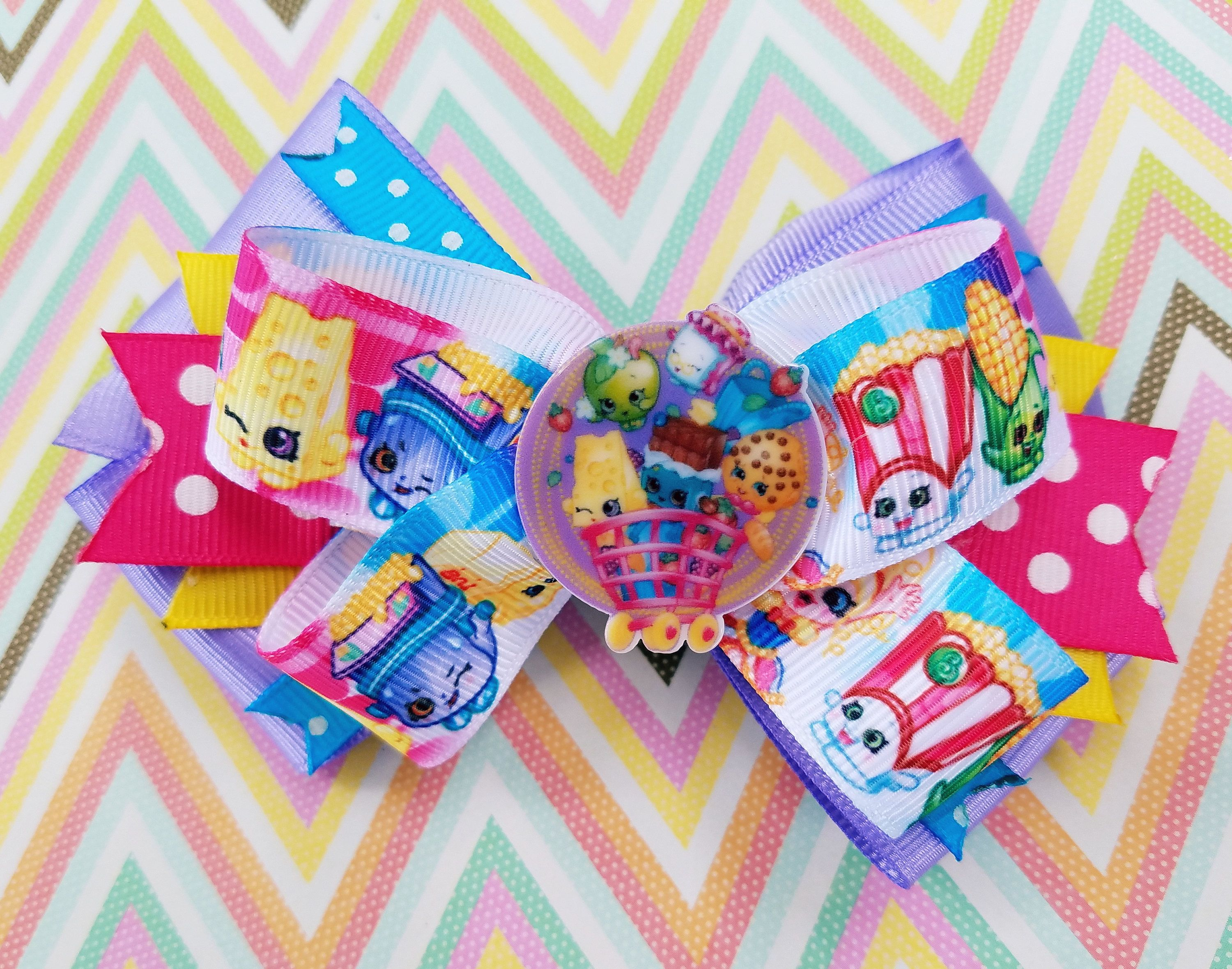 Shopkins Cart Full Of Yummy Chee Zee Kooky Cookie Apple Blossom Cheeky Chocolate By Tutus4Tails On