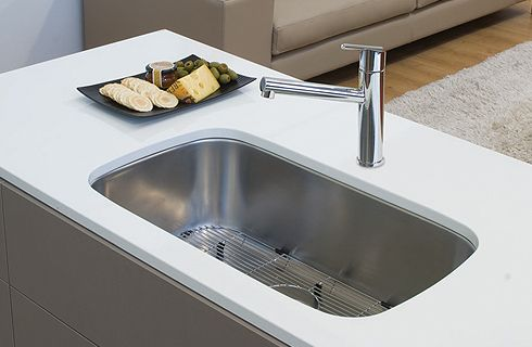 Oliveri Have Recognised This Need For Extra Size And Have Created A Range  Of Extra Capacity Sinks Manufactured From Brushed Finished Stainless Steel  That ...