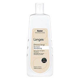basler langes haar shampoo 1 liter â basler professional