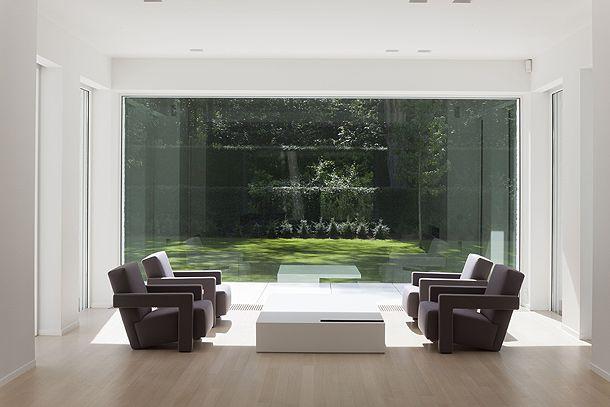 Iluminacion natural y vista interior interiores for Iluminacion minimalista interiores