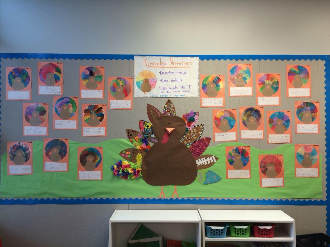 Our November Board In My Kindergarten Classroom We Made