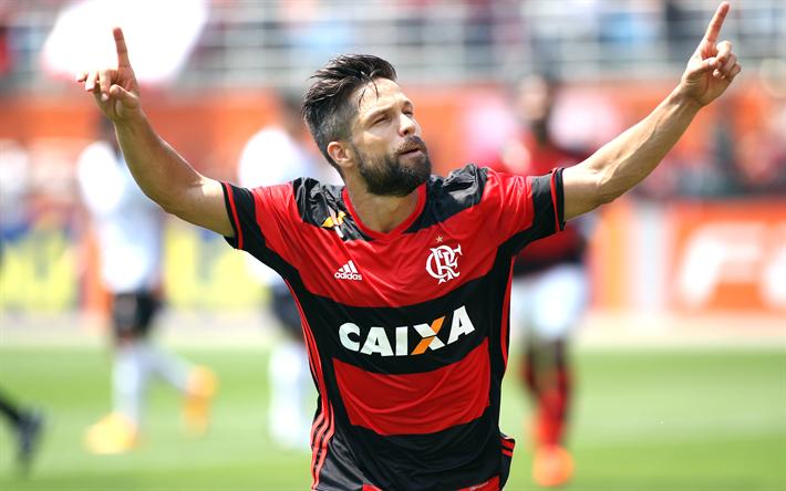 Download Wallpapers Diego Footballers 4k Diego Ribas Da