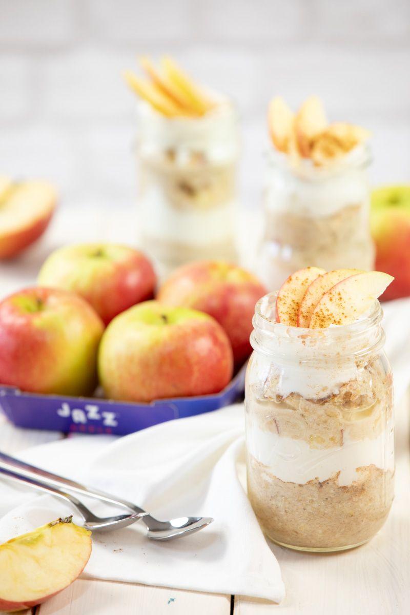 ApfelkuchenOvernightOats mit JAZZ™ Äpfeln TRYTRYTRY