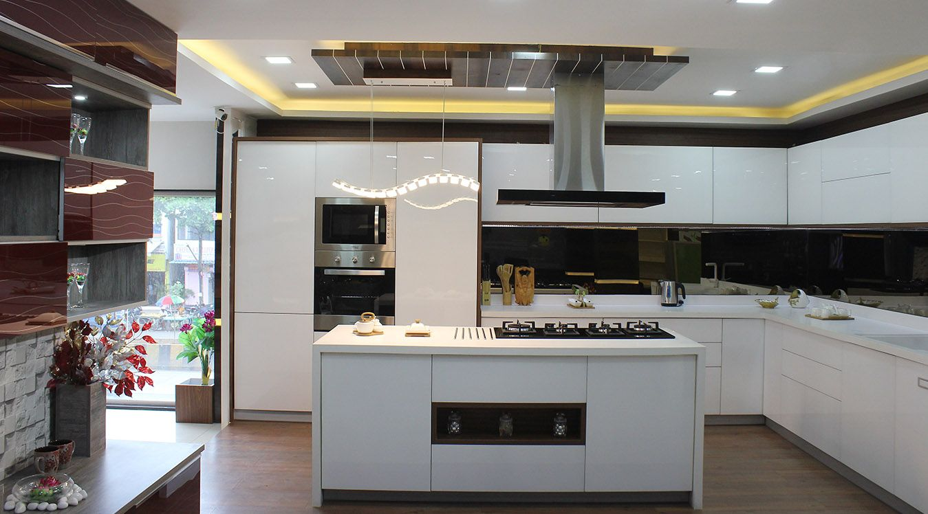 Modular Kitchen In Pune Shrike's Kitchen Kitchen Decor Is One Of Adorable Kitchen Trolley Designs Pune Inspiration