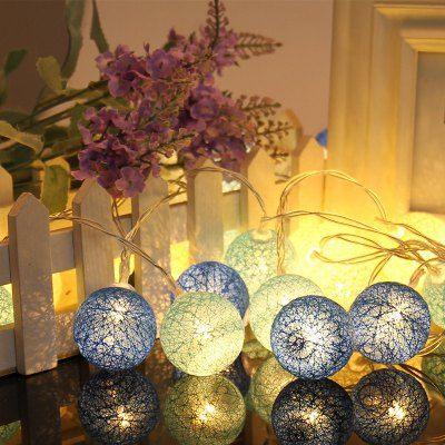 20 LED Colored Ball Light Decoration Lamp Home Decors Pinterest - christmas decors