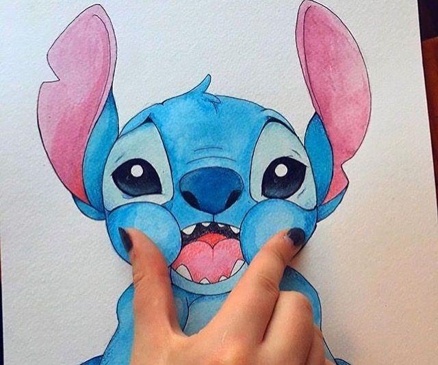 Pin By Ashley Wright On Lilo Stitch Disney Art Drawings Cute