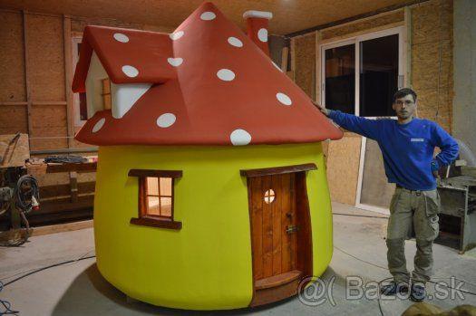 acc940f80e65d Detsky zahradny drevený domček - 1   záhrada   Dom a záhrada