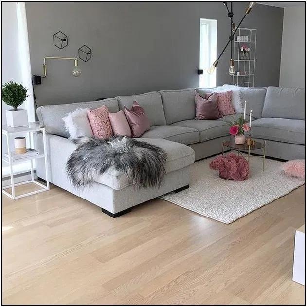 155 charming gray living room design ideas page 9   Homydepot.com #paintinglivingrooms