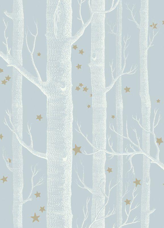 Wood and Star 33 L x 20.5″ W Wallpaper Roll
