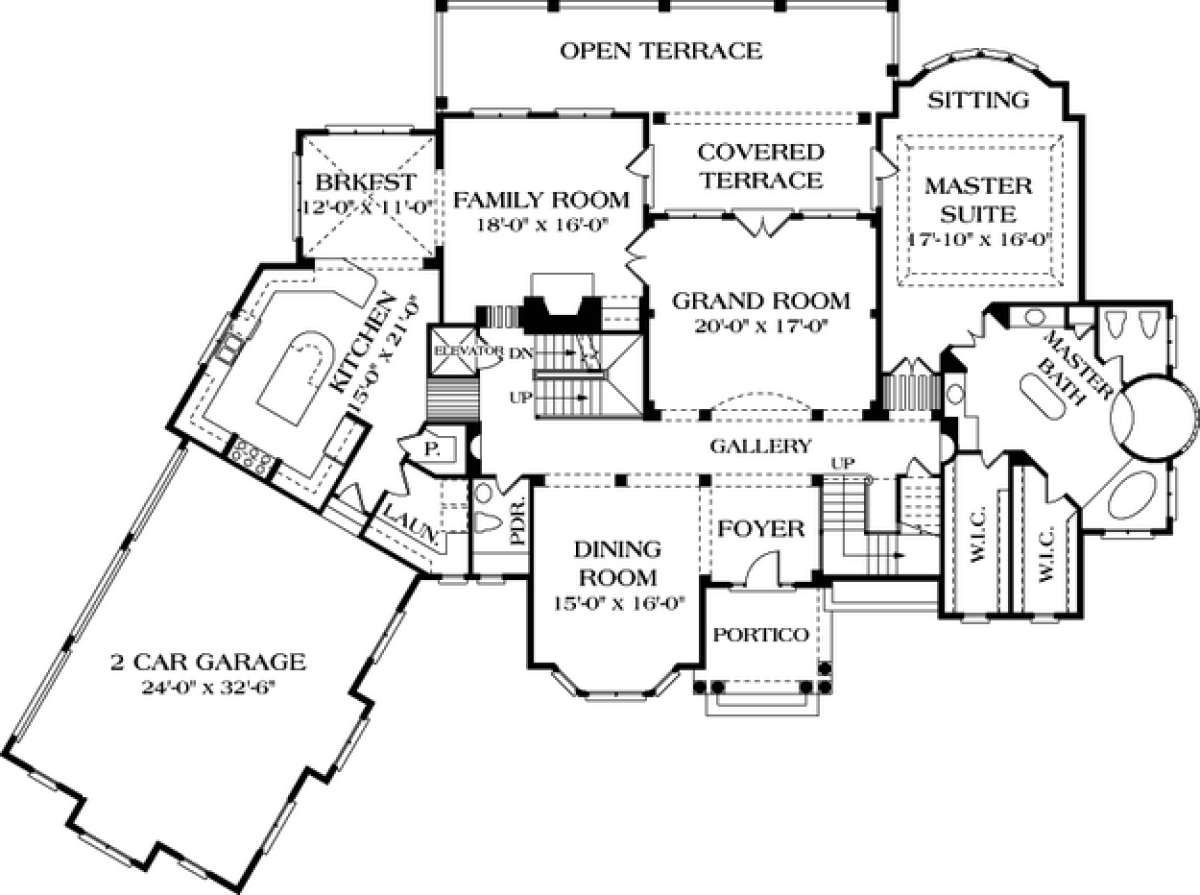 House Plan 3323 00504 Luxury Plan 8 143 Square Feet 6 Bedrooms 7 Bathrooms Mediterranean Style House Plans Luxury Plan How To Plan