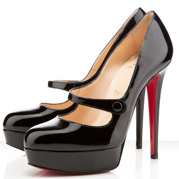 a9bcf691488 Christian Louboutin Relika 140mm Patent Pumps Black ...