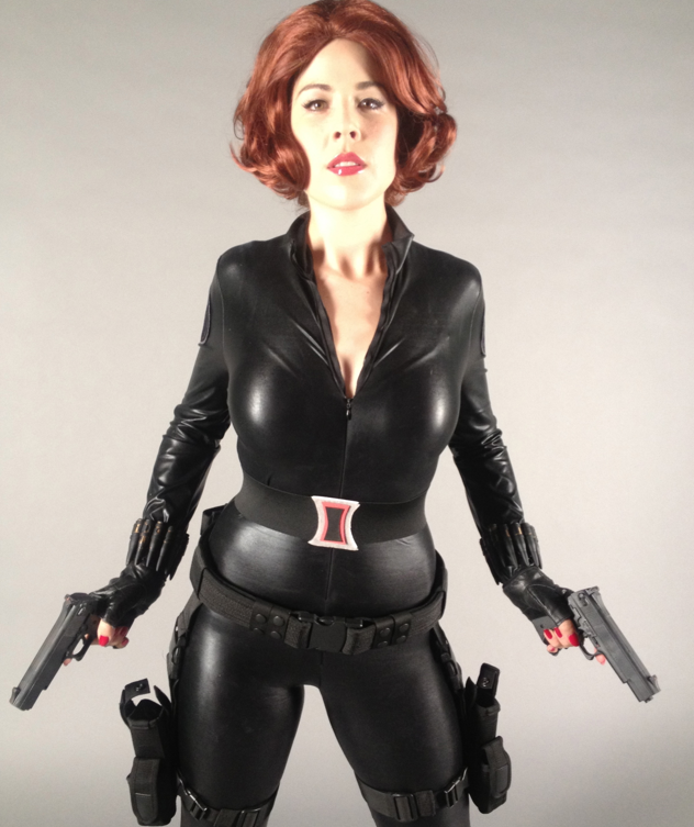 Black Widow Costume Diy Tutorial Includes A Video And A