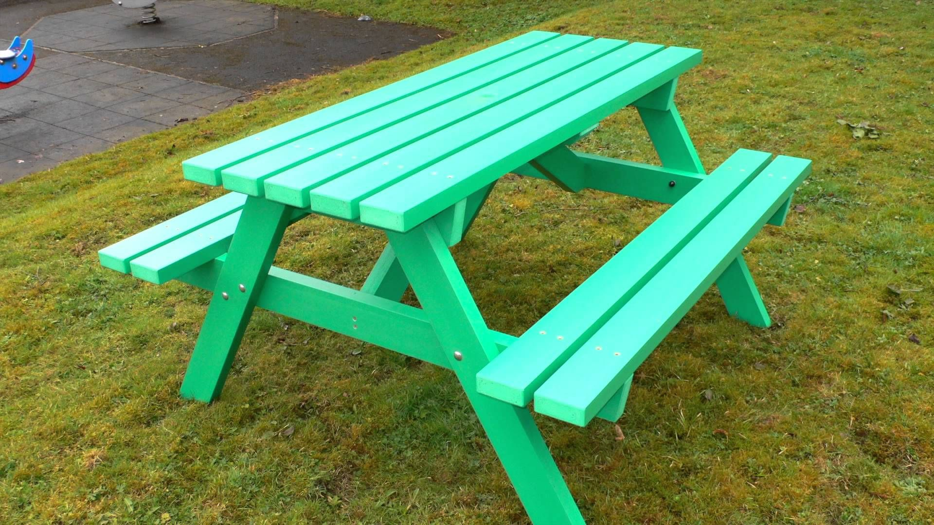 Miraculous Pin By Kedel Limited On Videos On Recycled Plastic Picnic Machost Co Dining Chair Design Ideas Machostcouk