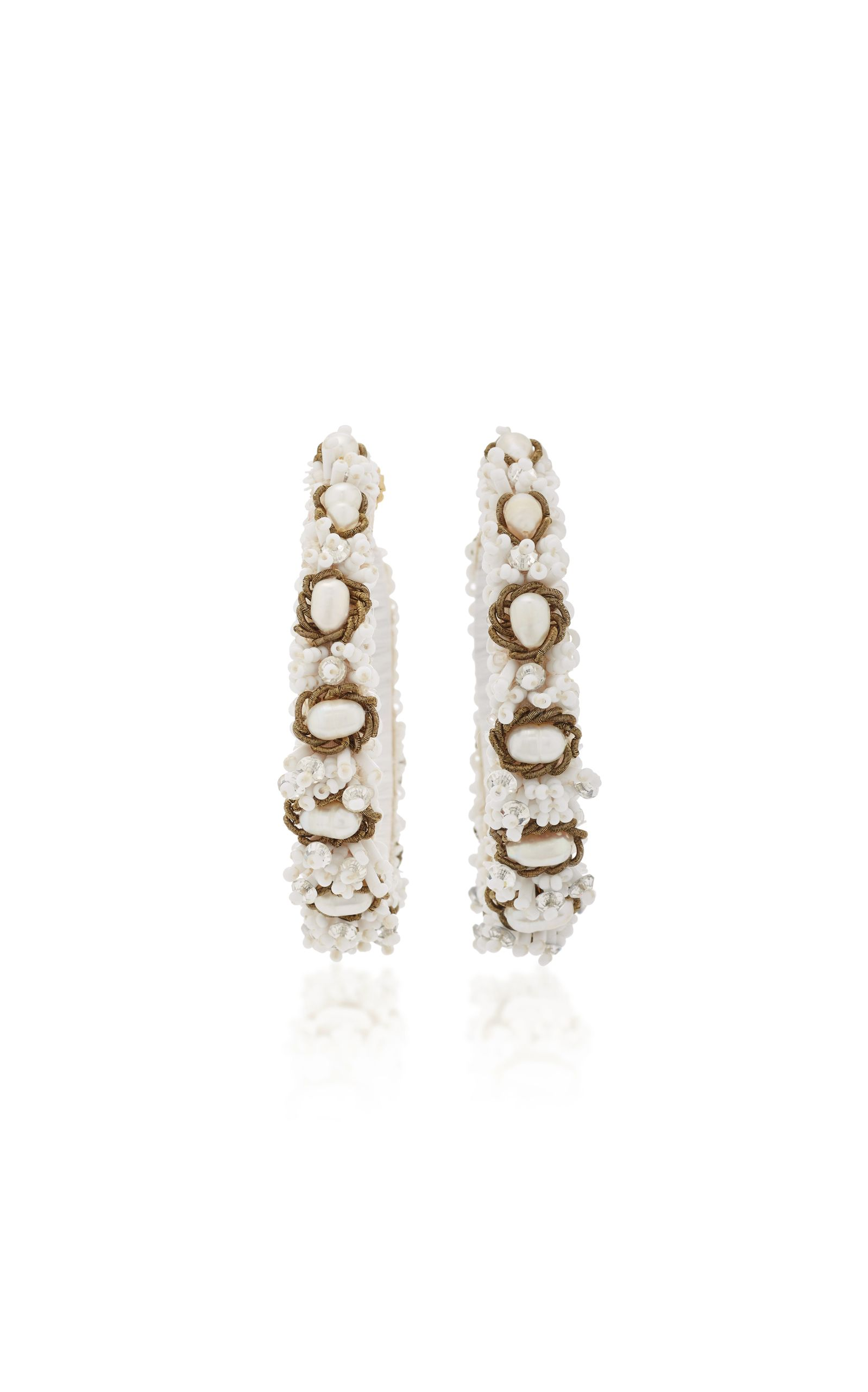 earrings melayna jewelry white view baublebar fullscreen drop beaded in teardrop lyst