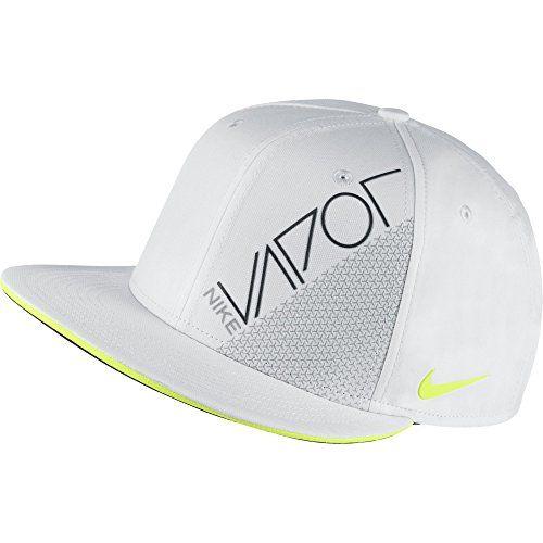 279a2a736b1 New 2015 Nike Golf True Vapor Flat Bill Hat COLOR  White