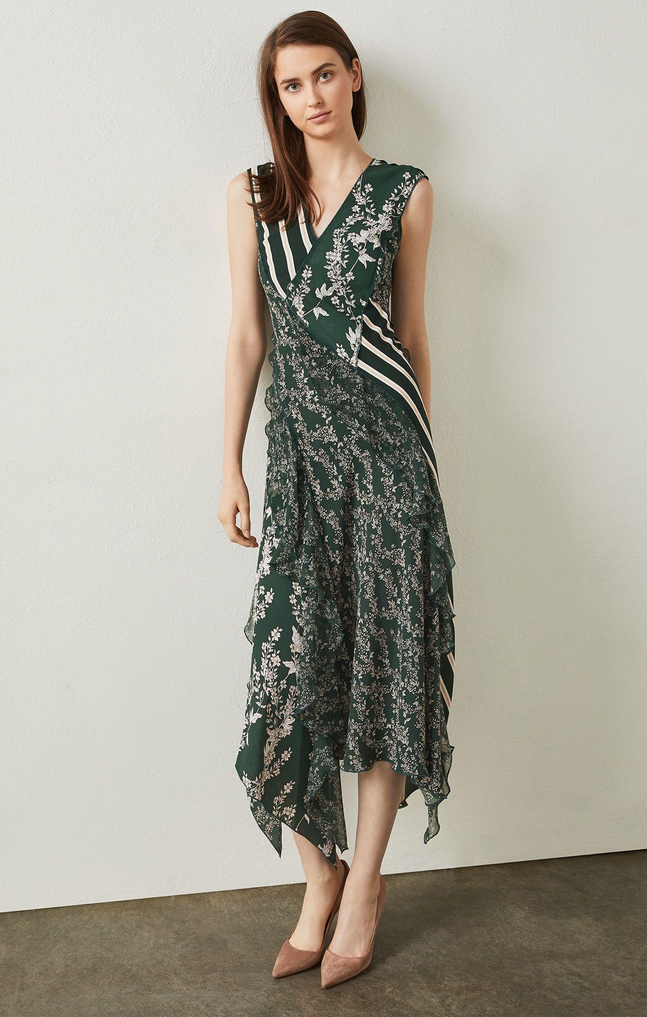 3de16507 LOVE this dress but please let me buy at 1/2 off! :) Floral Blooms  Asymmetrical Dress   BCBG.com