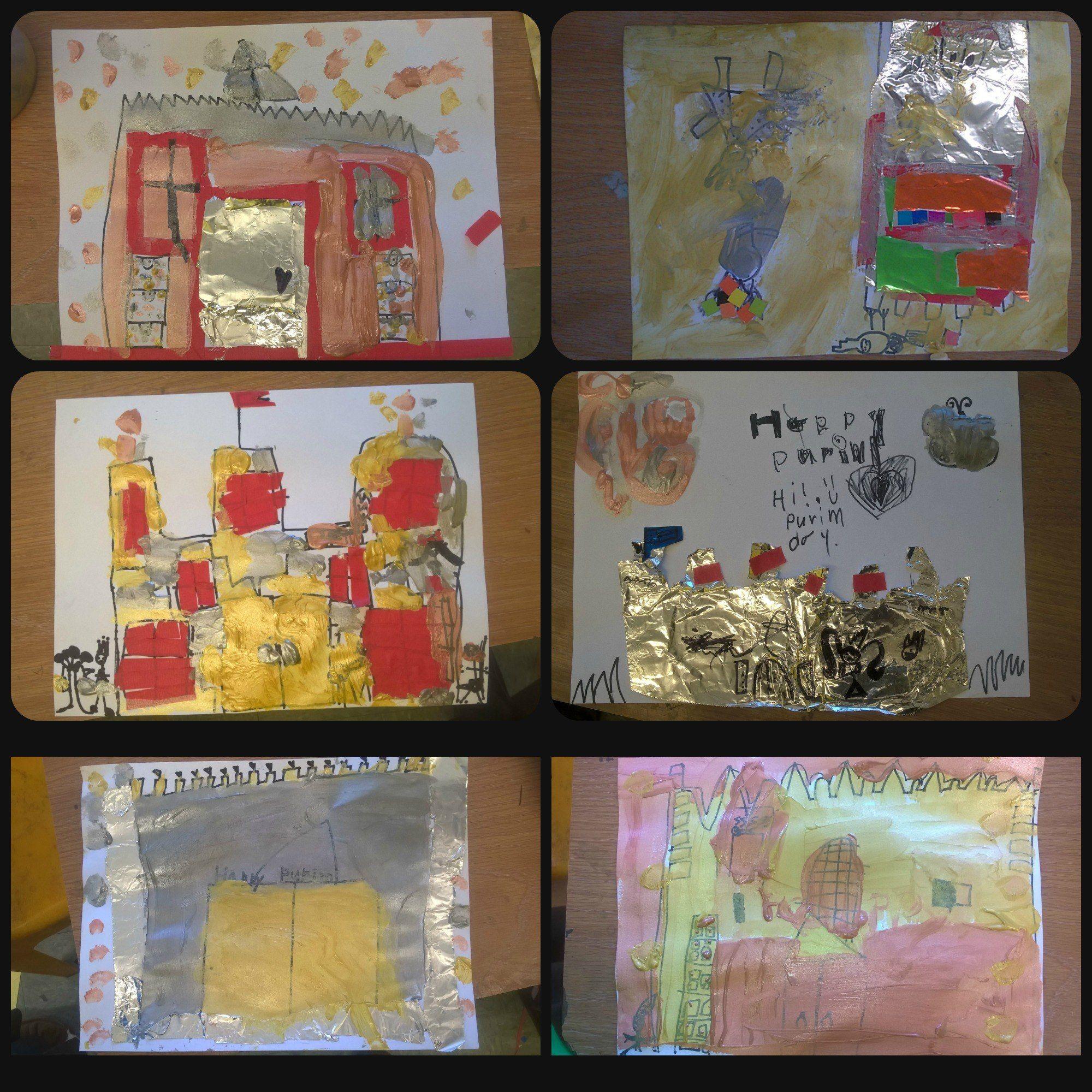 Castles For Purim In 2020 Purim Purim Crafts Jewish Preschool