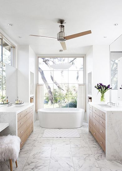 Our Top Picks Ceiling Fans White Marble Bathrooms Serene