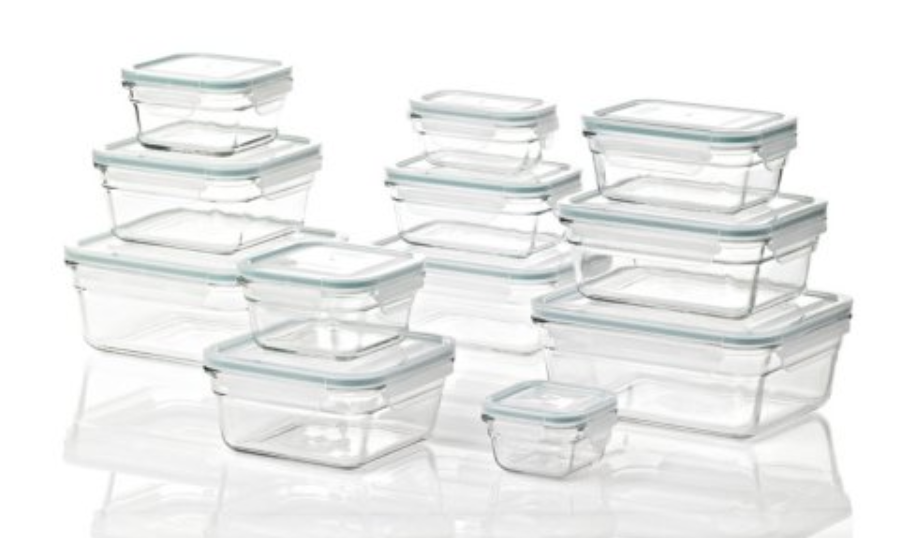 Member S Mark 24 Piece Glass Food Storage Set By Glasslock Glass