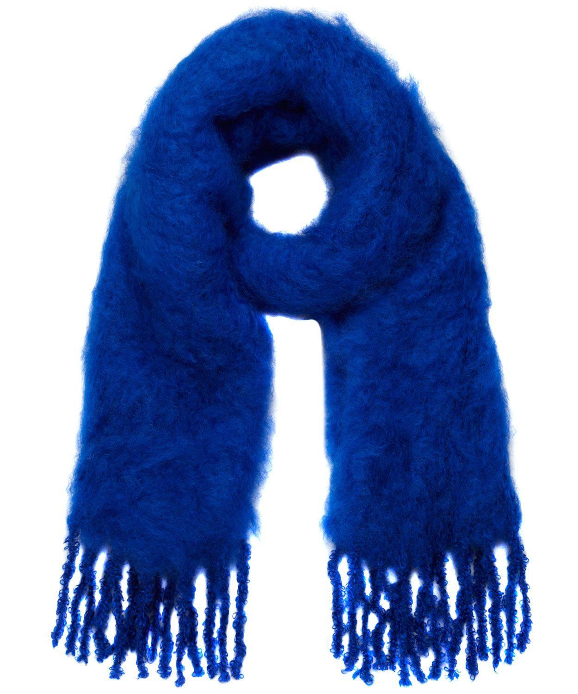 Blue Mohair Scarf, Balmuir.