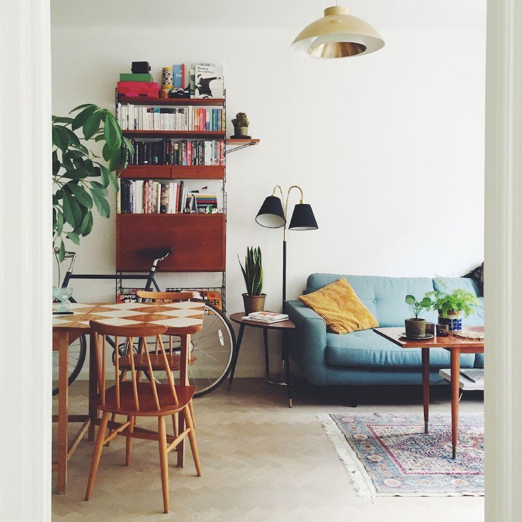 45 Arresting Retro Living Room Decorating Ideas On A Budget