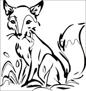 fox-coloring-page