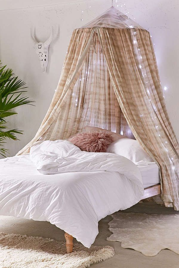 Bed Canopys madeline tie-dye bed canopy | tie dye bedding, bed canopies and canopy