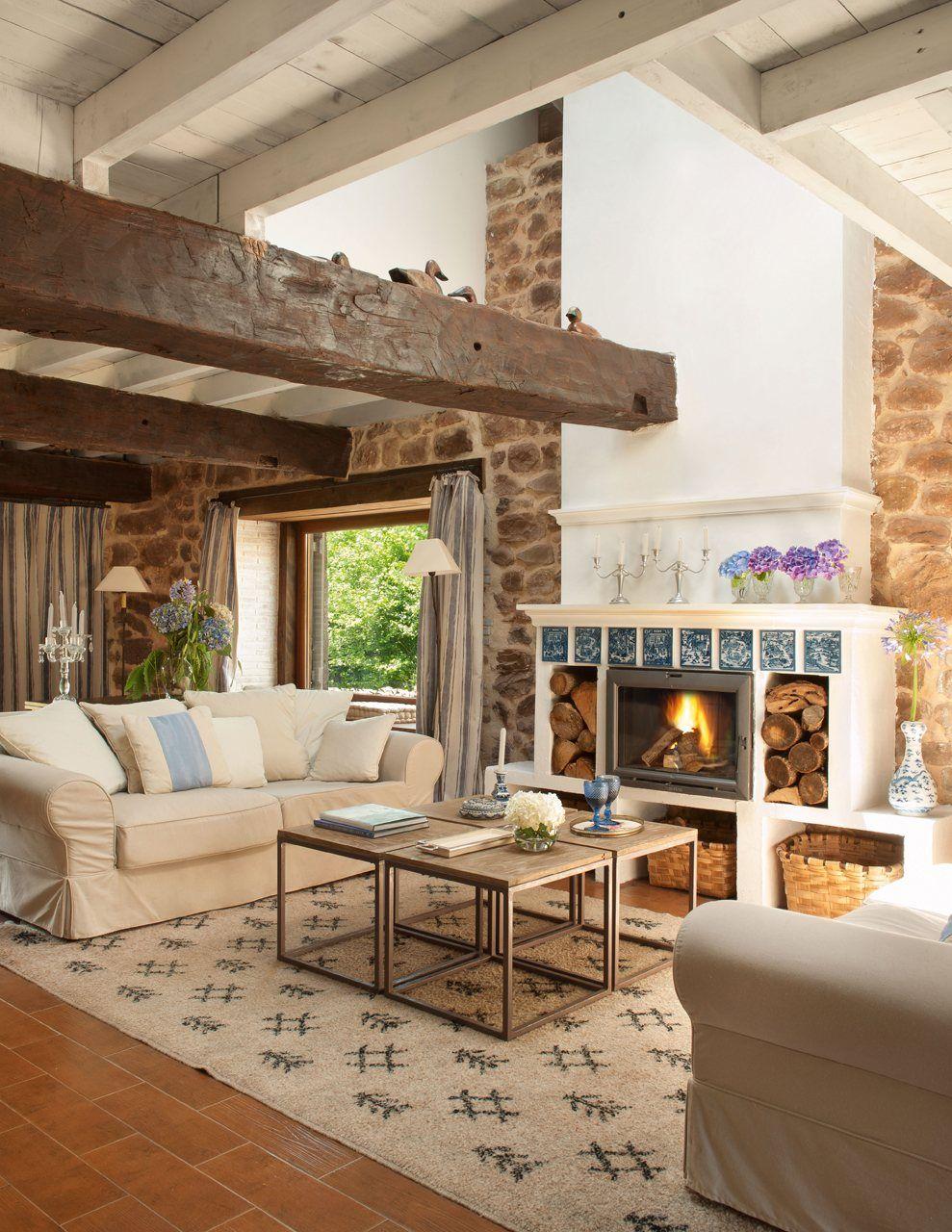 Cozy Great Room En El Sal N Los Sof S Son De El Corte Ingl S  ~ Reformas El Corte Ingles Opiniones