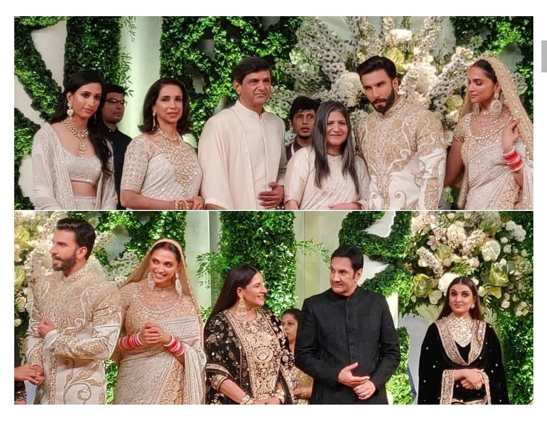 Ranveer Singh Is The Perfect Son In Law As Opts To Go With The Padukones In Ivory Instead Of The Bhavn Celebrity Weddings Bollywood Wedding Indian Wedding Deco