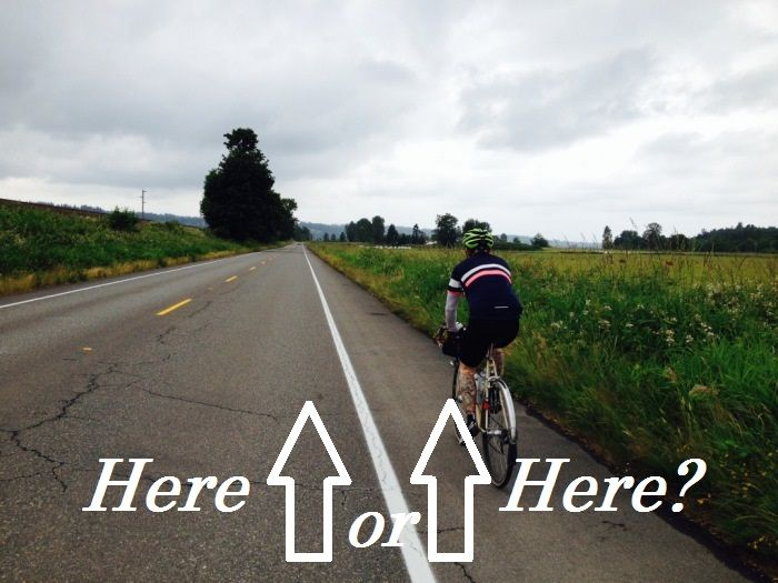 Where To Ride A Bike On The Road With Images Bike Riding Tips