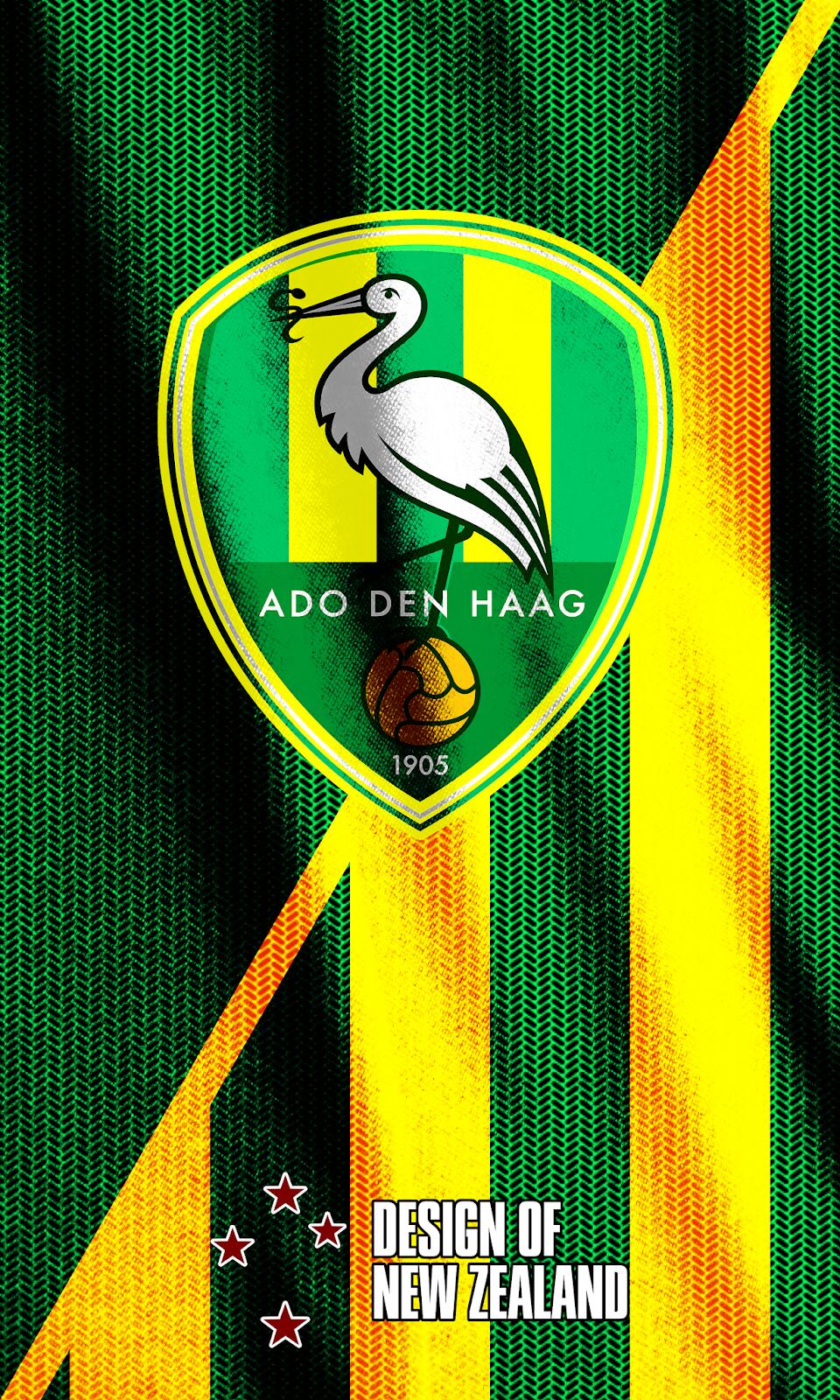 Wallpaper Ado Den Haag Futbol Escudo Fotos
