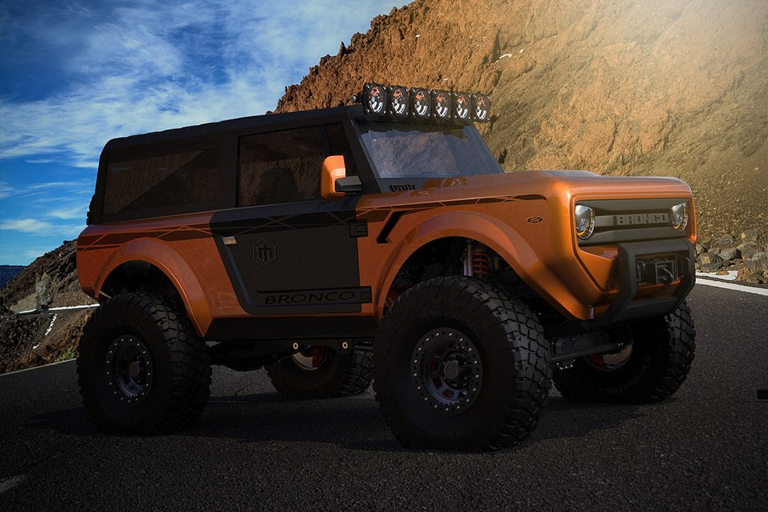 2020 Ford Bronco Concept Suv Hiconsumption Ford Bronco Concept