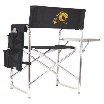 Outdoor Picnic Time Collegiate Folding Sports Chair Black - 809-00-179-952-0, Durable
