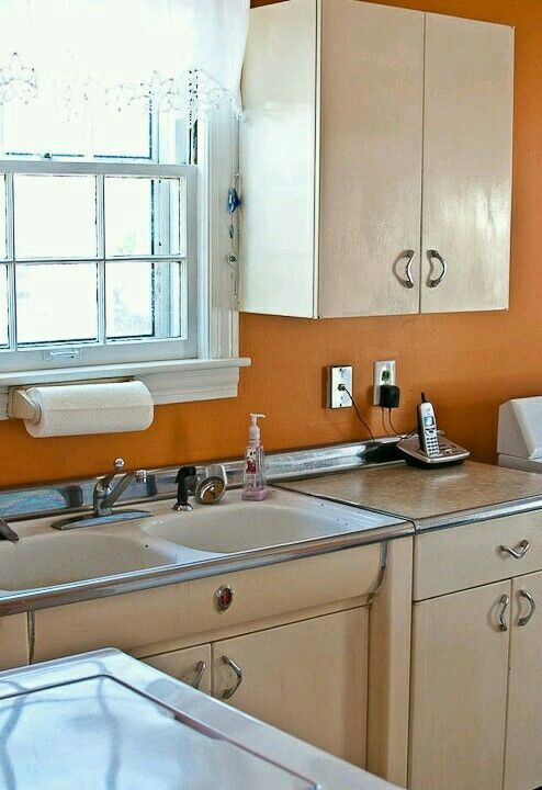 Kitchen cabinets still in place after years | Kitchen ...